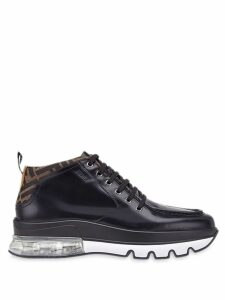 Fendi hybrid lace-ups - Black
