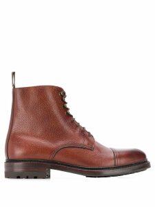 Berwick Shoes Marron boots - Brown