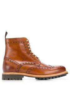 Berwick Shoes Cuero Lavato boots - Brown