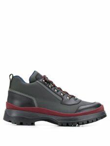 Prada lace-up trekking boots - Grey