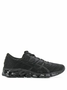 Asics ridged sole lace-up sneakers - Black