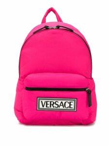 Versace 90s vintage logo backpack - Pink