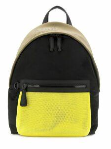 Mulberry Mesh panel backpack - Black