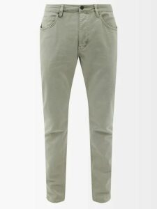 Neil Barrett - Pierced Leather Lace Up Boots - Mens - Black Multi