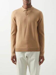 C.p. Company - Lens Loopback Cotton Track Pants - Mens - Khaki