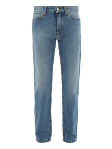 Dunhill - Selvedge Denim Slim Leg Jeans - Mens - Blue