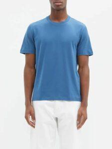 C.p. Company - Straight Leg Cotton Track Pants - Mens - Dark Blue