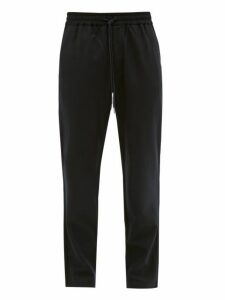 Barena Venezia - Cosmo Virgin Wool Blend Track Pants - Mens - Navy