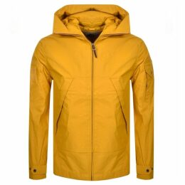 Pretty Green Lightweight Hooded Jacket Yellow