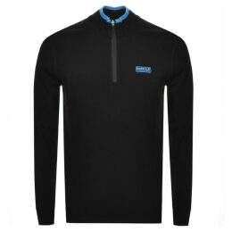 Barbour International Half Zip Sweatshirt Black