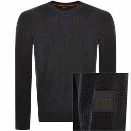Versace Jeans Couture Crew Neck Sweatshirt Black