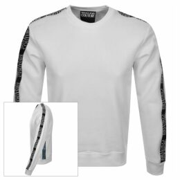 Versace Jeans Couture Crew Neck Sweatshirt White