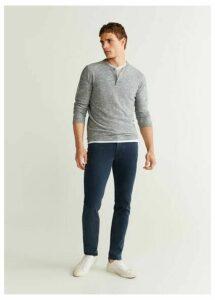Slim fit navy Patrick jeans