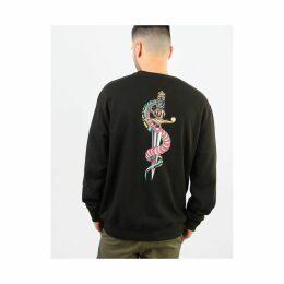 Scarred For Life Snake & Dagger Sweatshirt - Black (S)
