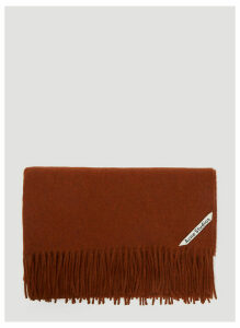 Acne Studios Canada New Scarf in Red size One Size