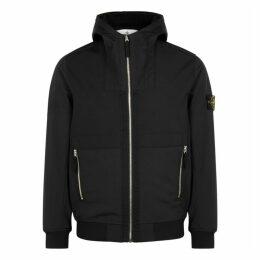 Stone Island Black Hooded Shell Jacket