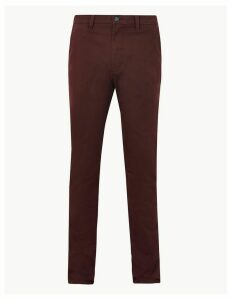 M&S Collection Slim Fit Chinos with Stretch