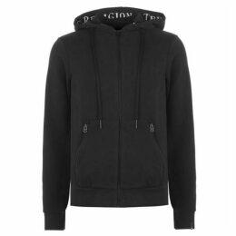True Religion Script Hooded Sweatshirt