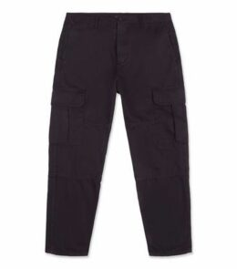 Black Slim Utility Trousers New Look