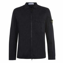 Stone Island Dyed Canvas Overshirt Jacket