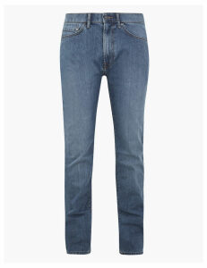 M&S Collection Tapered Fit Stretch Jeans with Stormwear