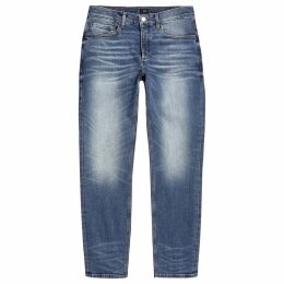 Mens River Island Mid Blue Dylan slim fit jeans