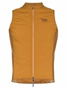Pas Normal Studios Stow Away gilet - Orange