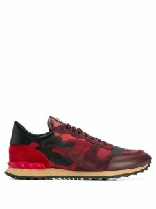 Valentino Valentino Garavani Rockrunner camouflage sneakers - Red
