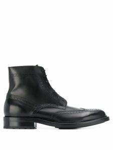 Saint Laurent brogue ankle boots - Black