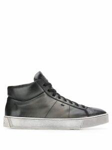 Santoni hi-top sneakers - Black