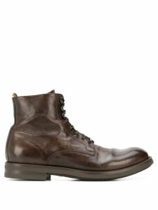 Officine Creative lace-up boots - Brown