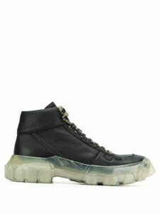 Rick Owens Larry tractor sneakers - Black