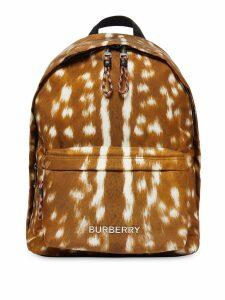 Burberry Deer print backpack - Brown
