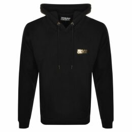 Versace Jeans Couture Logo Hoodie Black