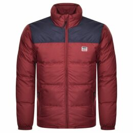 Levis Coit Quilted DownPuffer Jacket Red