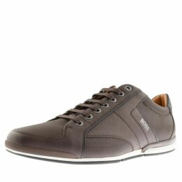 BOSS HUGO BOSS Saturn Lowp Trainers Brown