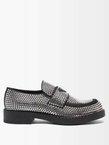 Toga Virilis - Buckled Leather Ankle Boots - Mens - Black