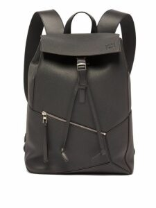 Loewe - Puzzle Grained-leather Backpack - Mens - Black