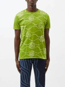 The Elder Statesman - Tie Dye Cashmere Sweater - Mens - White Multi