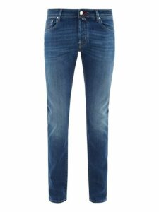 Jacob Cohën - Mid Rise Slim Fit Jeans - Mens - Denim