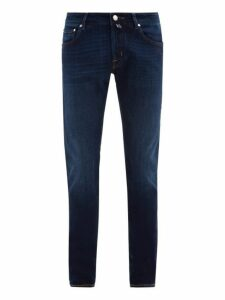 Jacob Cohën - Mid Rise Slim Fit Jeans - Mens - Denim