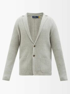 Gucci - Tennis Logo Embroidered Cotton Hooded Sweatshirt - Mens - Black