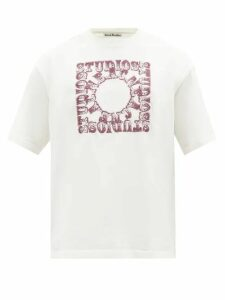 Balenciaga - Checked Wide Leg Crepe Trousers - Mens - Black White