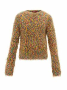 Sies Marjan - Roman Crew Neck Sweater - Mens - Orange Multi