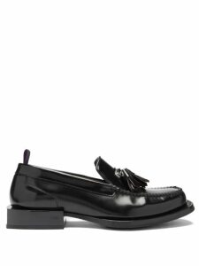Marni - Pinstriped Wool Trousers - Mens - Orange Multi