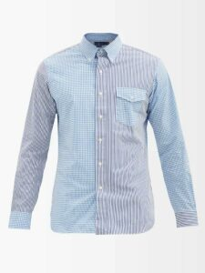 Hecho - Drawstring Waist Silk Charmeuse Trousers - Mens - Navy