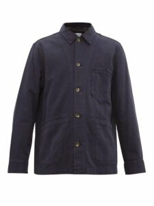 Rag & Bone - Jasper Cotton Blend Utility Jacket - Mens - Indigo
