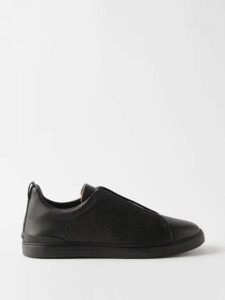 Incotex - Slim Fit Cotton Blend Chino Trousers - Mens - Green