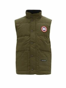 Canada Goose - Freestyle Crew Quilted Down Gilet - Mens - Green