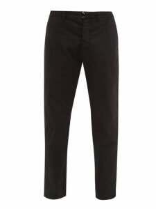 J.w. Brine - Austin Cotton Blend Herringbone Trousers - Mens - Black
